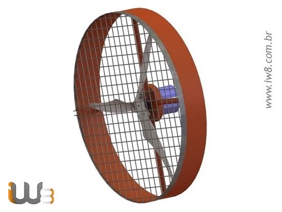 Hélices de Plástico para Ventiladores Industriais