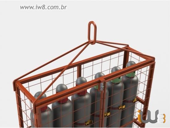 Içamento de Cilindros de Gases