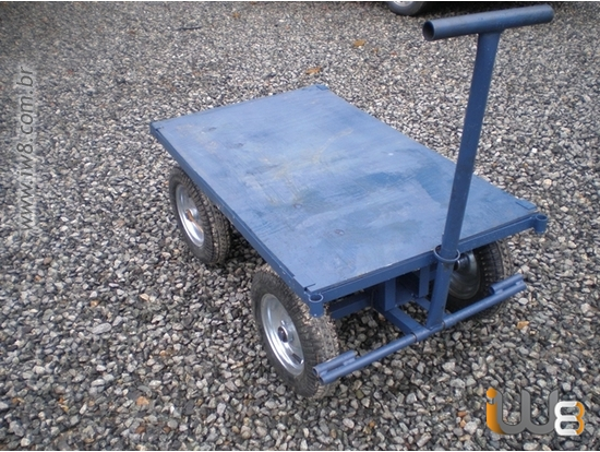Lambreta Plataforma Carro 4 Rodas