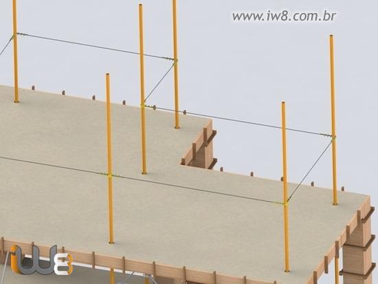 Linha de Vida na Construção Civil