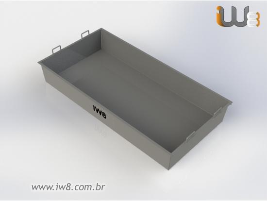 Masseira Metalica para Obra