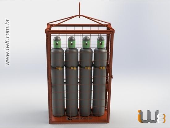 Nbr Transporte de Cilindros de Gases