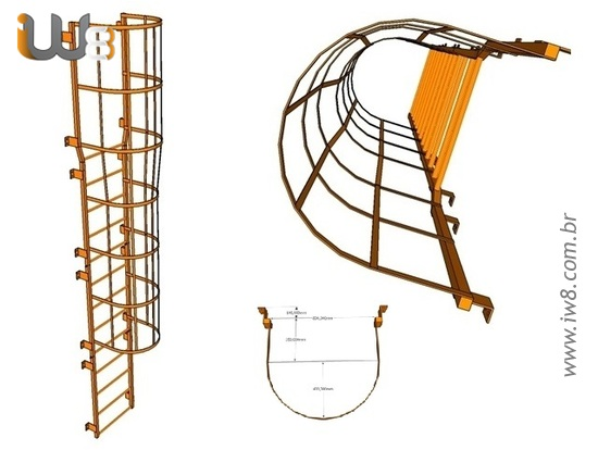 Norma para Escada Marinheiro