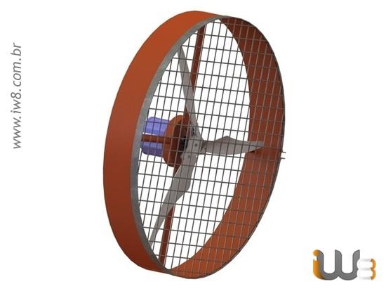Peças de Reposição para Ventiladores Industriais