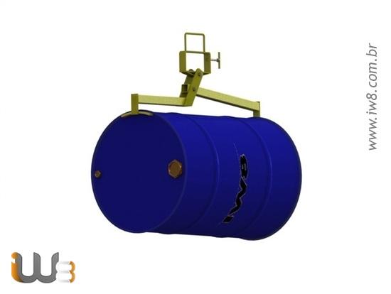 Pega Tambor Horizontal Dispositivo para Tambores