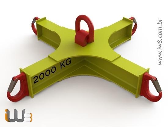 Foto do produto - Cruzeta para Big Bag 2000kg MDP