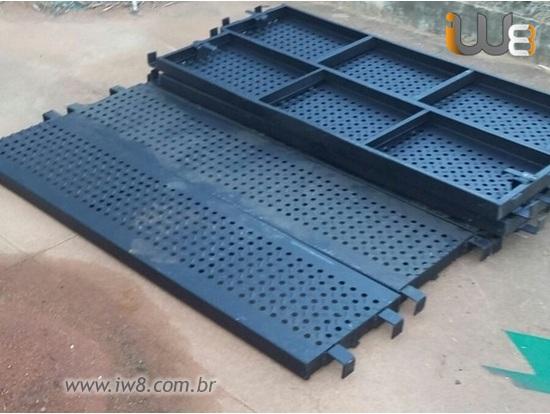 Foto do produto - Piso Metalico para Andaime Plataforma