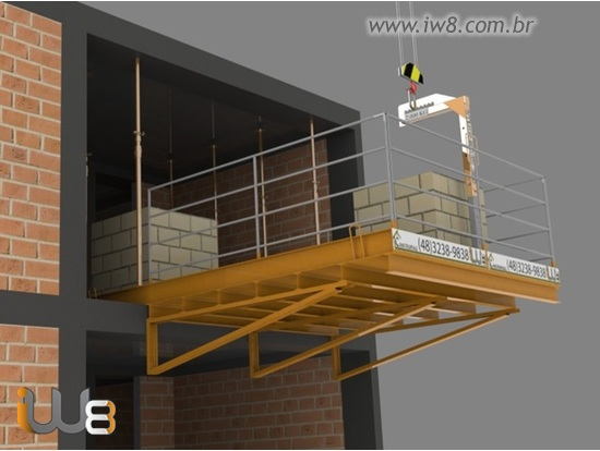 Foto do produto - Plataforma de Descarga 3m x 3m - 5.000kg