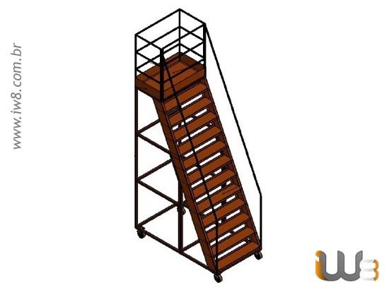 Plataforma de Trabalho Metalica