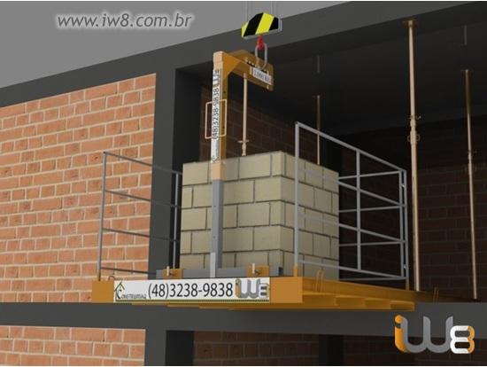 Foto do produto - Plataforma de Descarga 2m x 2m - 1.500kg