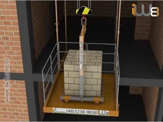 Plataforma para Descarga 2m x 2m 1.500kg