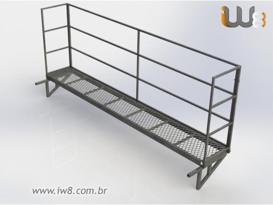 Plataforma para Proteção de Pilar