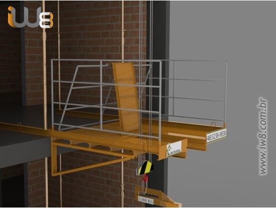 Plataformas Carga e Descarga 2m x 2m Cap 2.000kg