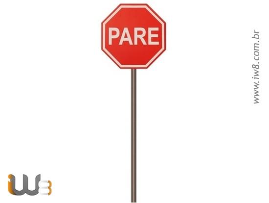Poste de Placa de Rua