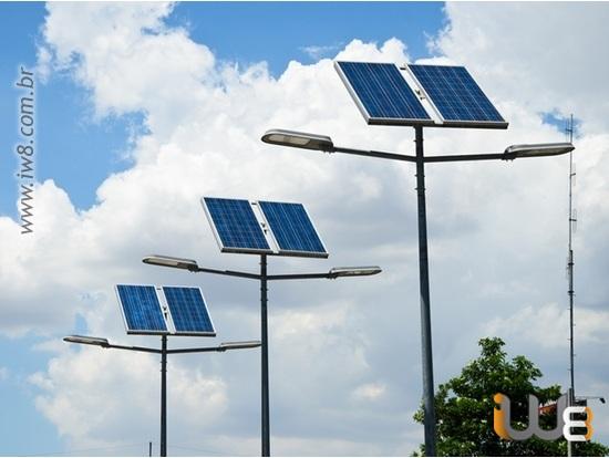 Poste Placa Solar