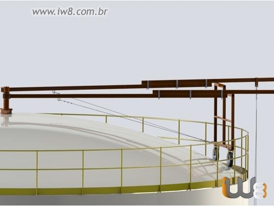 Projeto de Instalação de Tanque de Combustivel Aereo