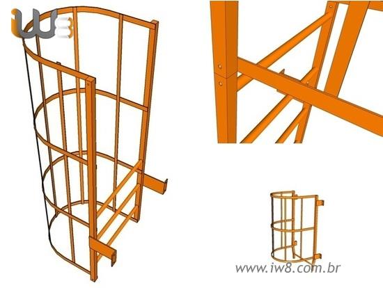 Projeto para Escada Marinheiro