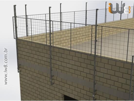 Foto do produto - Proteção Periferia Alvenaria Estrutural