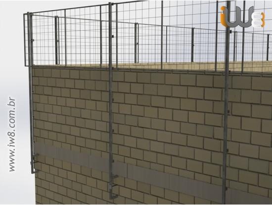 Proteção de Periferia para Alvenaria Estrutural
