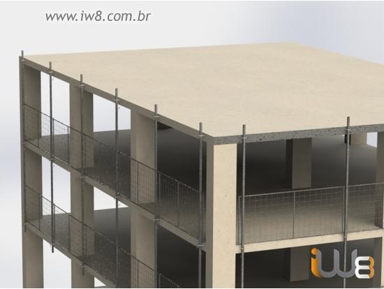 Proteção Periférica Construção Civil