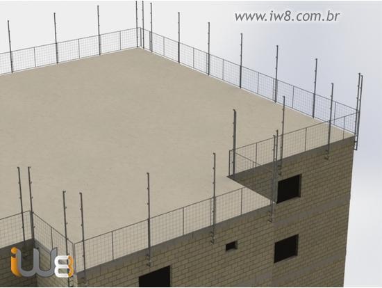 Proteção Perimetral Alvenaria Estrutural