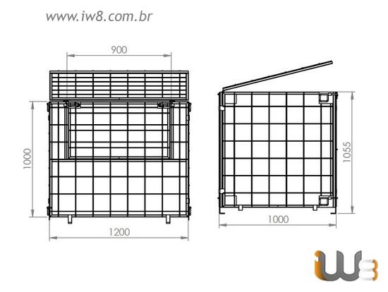 Rack Metálico Aramado