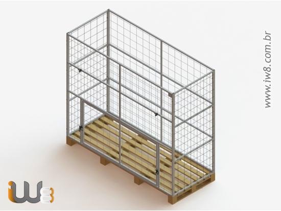 Rack Metálico Fabricado Sob Medida