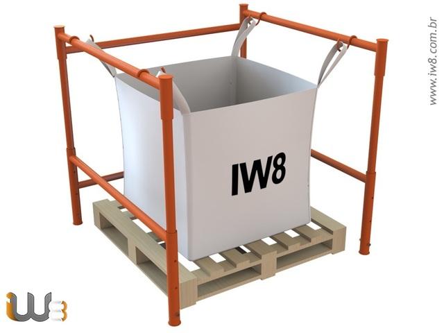 Foto do produto - Rack Desmontável para Big Bags