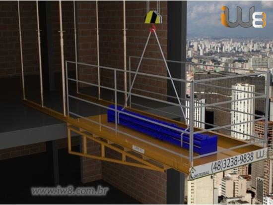 Foto do produto - Plataforma de Descarga 1,5m x 3,5m - 2.000kg