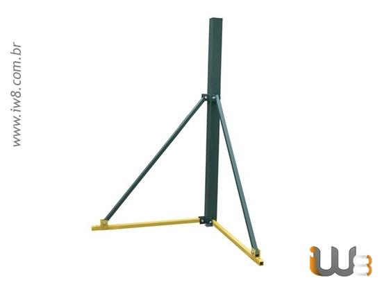 Foto do produto - Bipé 3m Guincho de Coluna Cap. 500kg