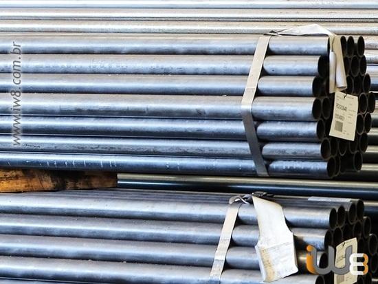 Tubo de Aço Galvanizado para Linha de Vida
