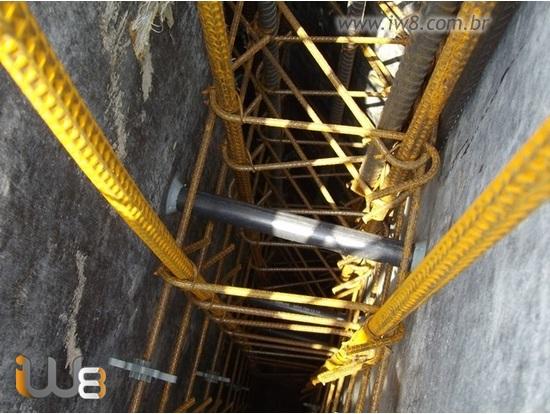 Tubo Espaçador de PVC para Concreto