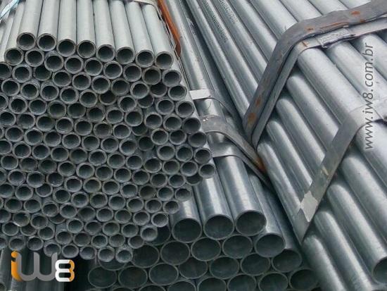 Tubos de Aço Galvanizado para Linha de Vida