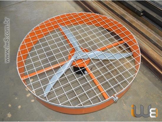 Ventilador Agricola Alta Potência 100cm Parede