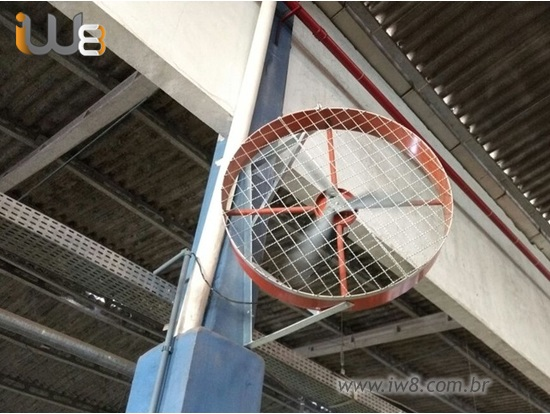 Ventilador de Alta Potência Grande 100cm de Parede
