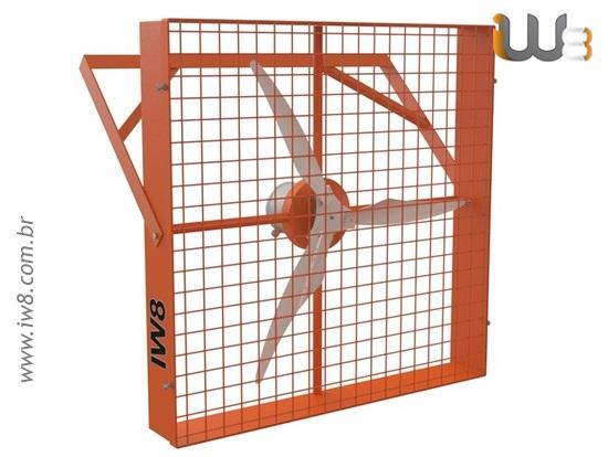 Foto do produto - Ventilador Industrial Grande Quadrado