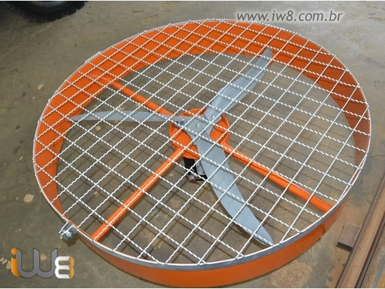 Ventilador Industrial para Granja Grande 100cm
