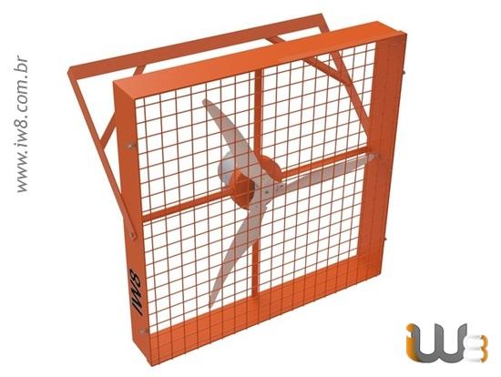 Ventilador para Compost Barns