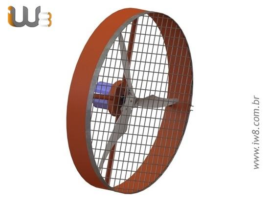 Ventilador Preço De Fábrica Para Granja De Frango 100cm