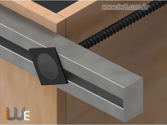 Foto do produto - Viga Metálica 1,2m para Trava de Forma