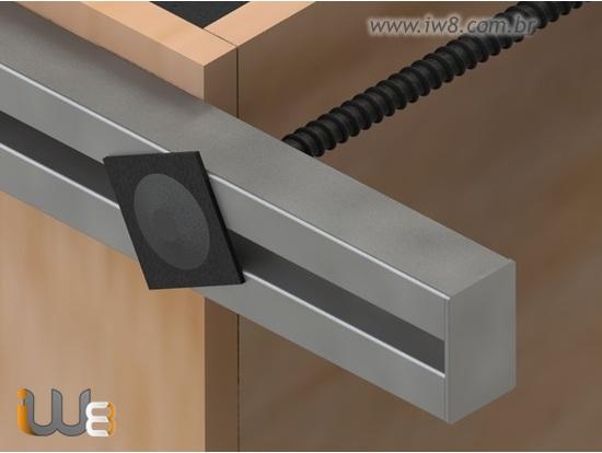 Foto do produto - Viga Metálica 3m Travamento Forma