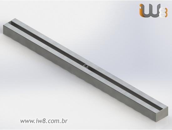 Foto do produto - Viga Metálica 1m Travamento Forma