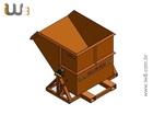 Foto do produto - Caçamba Basculante para Cavaco 1,1m³