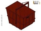 Foto do produto - Caçamba de Entulho Basculante 4m³ 04T
