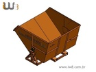 Foto do produto - Caçamba para Empilhadeira 3,3m³