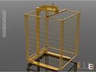 Foto do produto - Garfo Paleteiro 2.000kg Lança Regulável Altura Fixa 1,2m com Tela