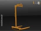 Foto do produto - Garfo Paleteiro 1.000kg Lança Regulável Altura Fixa 1,5m